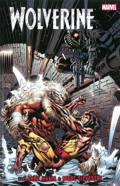 Wolverine by Larry Hama & Marc Silvestri Volume 2 daniele silvestri milan