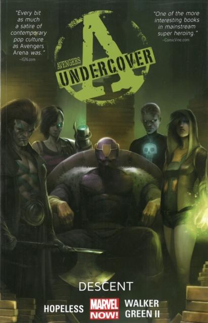 Avengers Undercover Volume 1 uncanny avengers unity volume 3 civil war ii