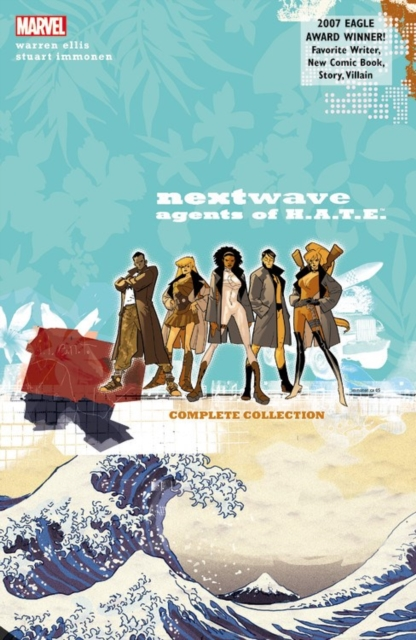 Nextwave: Agents of H.A.T.E. catalog of teratogenic agents first edition