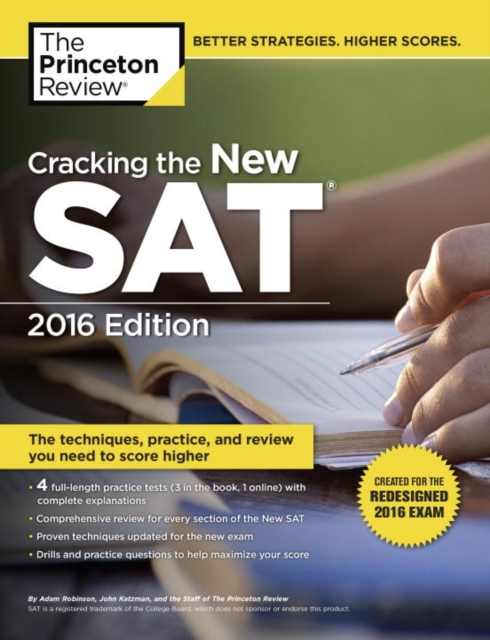 CRACKING NEW SAT 2016 geer p 6 practice tests for the new sat 2nd edition
