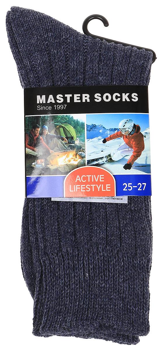 Носки мужские Master Socks, цвет: темно-синий. 88514. Размер 25/27