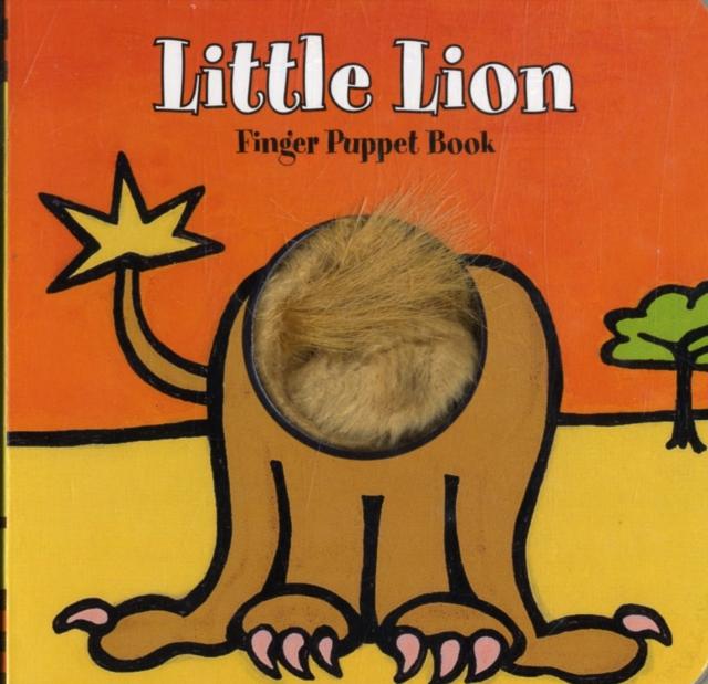 Little Lion Finger Puppet Book library lion