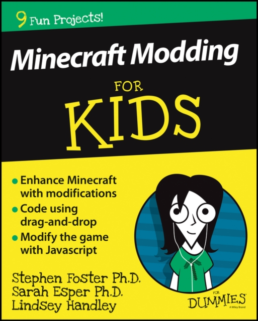 Minecraft Modding For Kids For Dummies mattel games фигурка персонажей minecraft
