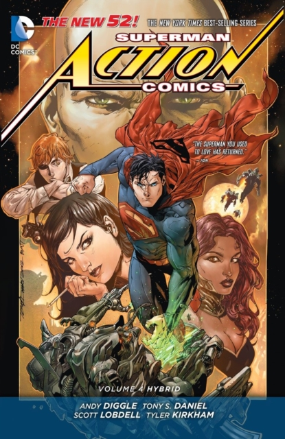 Superman - Action Comics Vol. 4: Hybrid (The New 52) batman detective comics vol 3 emperor penguin the new 52