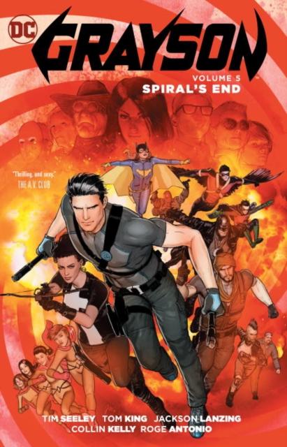 Grayson Vol. 5: Spyral's End jack of fables vol 9 the end