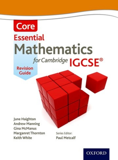 Essential Mathematics for Cambridge IGCSE Core Revision Guide cambridge essential english dictionary second edition