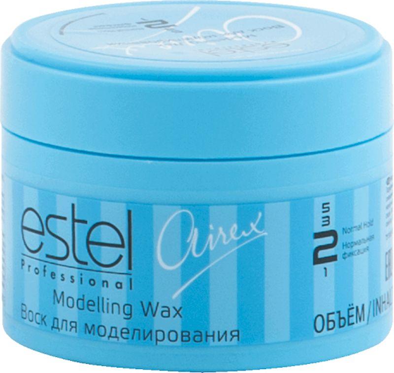 Estel Airex Воск для моделирования нормальной фиксации 75 млAW75Воск для моделирования Estel Airex cодержит натурально - растительные компоненты, питающие волосы. Подчеркивает отдельные пряди или элементы прически, хорошо фиксирует, придает волосам сияющий блеск. В результате подчеркнутая текстура волос и прически.