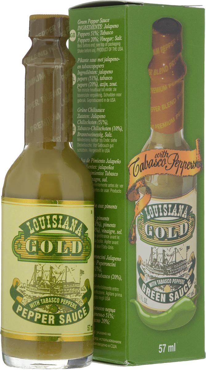 все цены на Louisiana Gold соус зеленый перечный, 57 мл онлайн