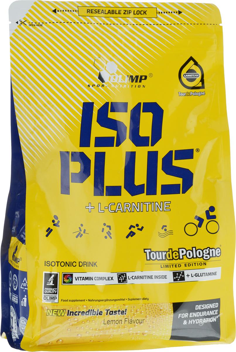 Изотонический напиток Olimp Sport Nutrition Iso Plus Powder, лимон, 1505 г00000000026Olimp Sport Nutrition Iso Plus Powder - это тщательно подобранный концентрат для подготовки изотонического напитка в порошке, с добавлением L-карнитина и L-глутамина. Благодаря такому сочетанию средство поможет поддерживать ваш организм во время длительных физических нагрузок. Рекомендации по применению: используйте по мере необходимости, особенно во время интенсивных физических нагрузок. Рекомендации по приготовлению: 17,5 г порошка (2 столовые ложки) в 250 мл воды.Состав: сахар, мальтодекстрины, глюкоза, фруктоза, регулятор кислотности, хлорид натрия, фосфат калия, фосфат кальция, цитрат натрия, карбонат магния, загуститель, ароматизаторы, L-глютамин, L-карнитин, витамины, ароматизатор.Товар сертифицирован.Уважаемые клиенты! Обращаем ваше внимание на то, что упаковка может иметь несколько видов дизайна. Поставка осуществляется в зависимости от наличия на складе.Как повысить эффективность тренировок с помощью спортивного питания? Статья OZON Гид
