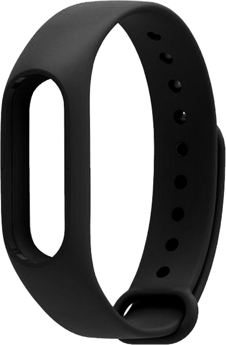 Untamo силиконовый ремешок для Xiaomi Mi Band 2, Black