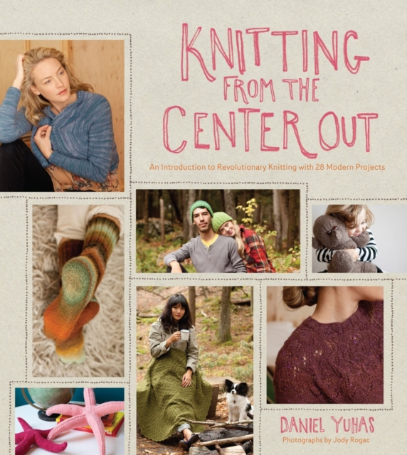 Knitting from the Center Out a cat a hat and a piece of string