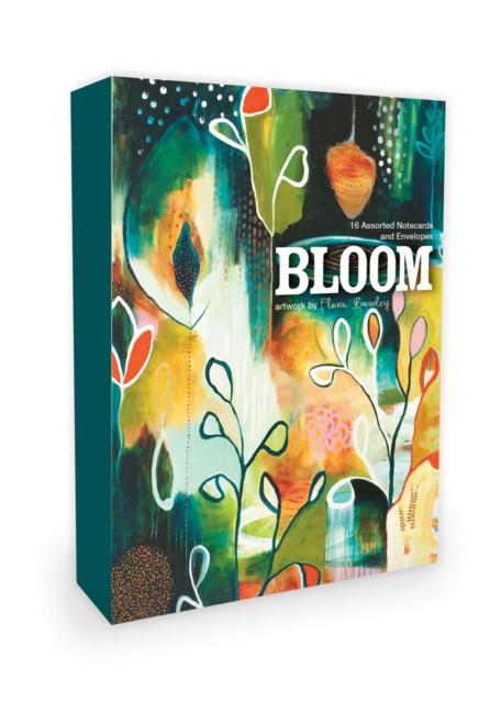 Bloom Notecards Artwork by Flora Bowley.