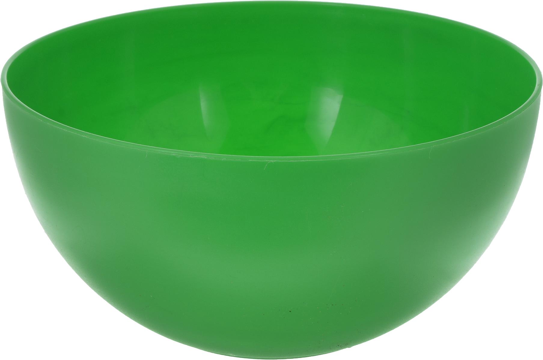 Салатник Gotoff, цвет: зеленый, 4 лWTC-247_зеленыйСалатник Gotoff выполнен из прочного пищевого полипропилена. Изделие отлично подойдет как для холодных, так и для горячих блюд. Его удобно использовать дома или на даче, брать с собой на пикники и в поездки. Отличный вариант для детских праздников. Такой салатник не разобьется и будет служить вам долгое время.Диаметр салатника (по верхнему краю): 24 см. Высота стенки: 12 см.