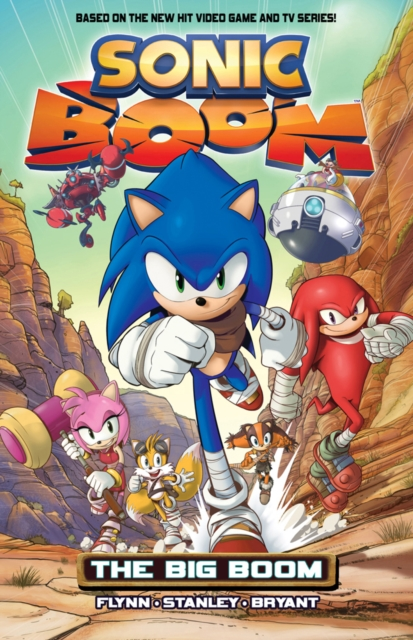SONIC BOOM VOL. 1 crusade vol 3 the master of machines