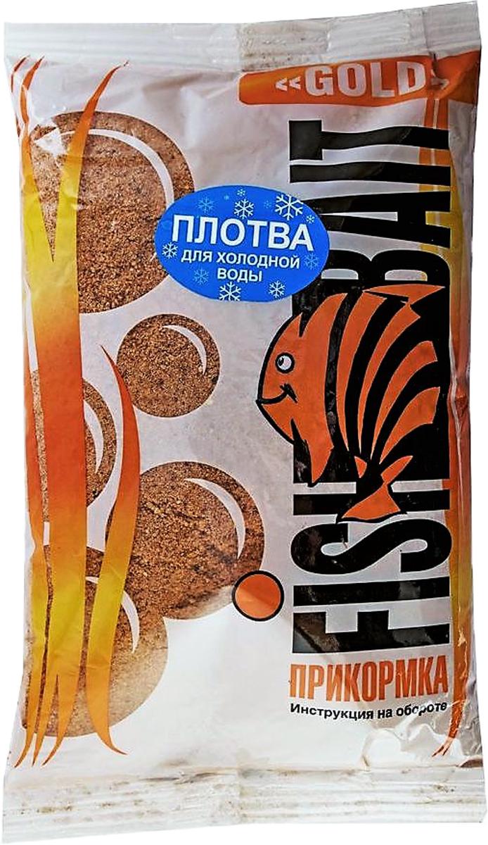 Прикормка для холодной воды FishBait Ice Gold. Плотва, зимняя, 1 кг