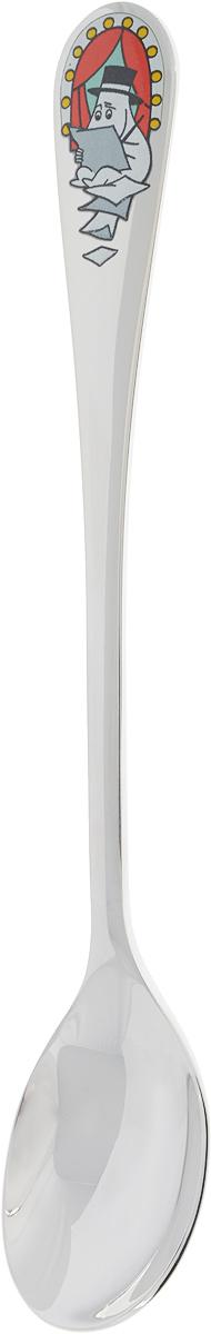 Ложка Moomin Летний театр Муми-папа1023456Кофейная ложка Moomin Летний театр Муми-папа изготовлена из высококачественного металла. Такая ложка останется на долгую память, ведь это не только красивый сувенир, но и полезная кухонная утварь, которая пригодится и дома, и на работе. Длина ложки: 16,5 см.