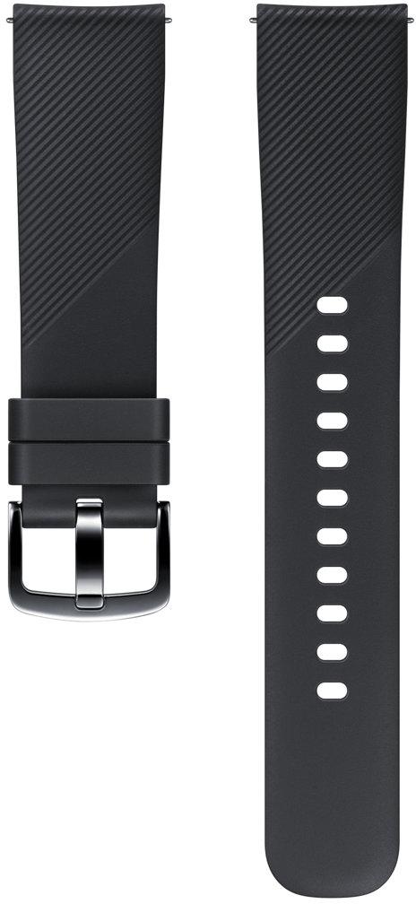 Samsung ET-YSN60 ремешок для Gear Sport, BlackSAM-ET-YSN60MBEGRUСтильный ремешок ET-YSN60 для смарт-часов Samsung Gear Sport позволит всегда быть в центре внимания. Он выполнен из силикона, легко снимается и быстро меняется в зависимости от вашего настроения или стиля одежды.