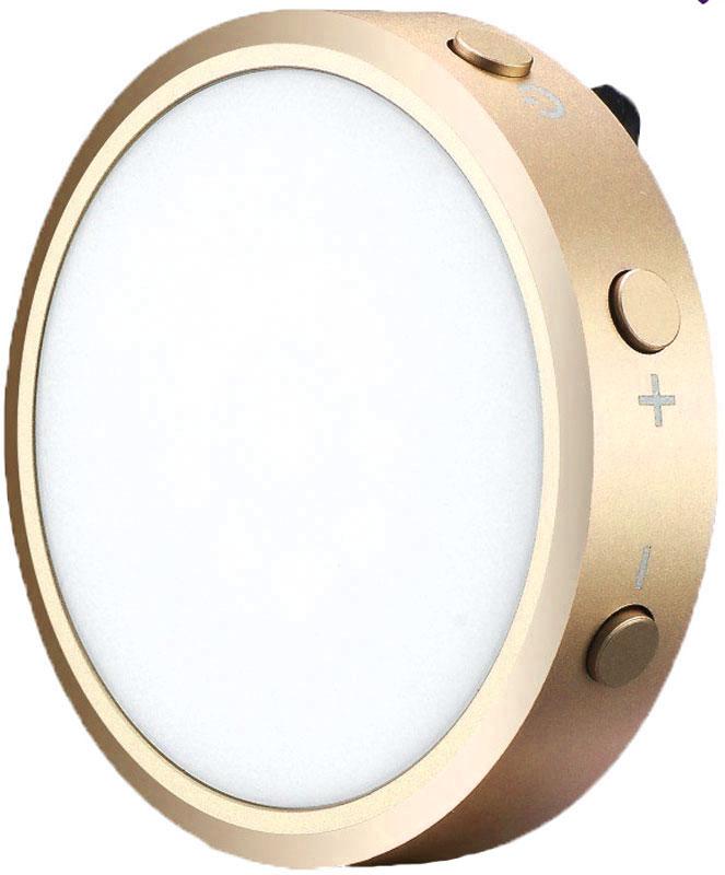 YongNuo YN06, Gold осветитель светодиодный для смартфоновYN06_YONGNUO_золотойYongNuo YN06 - внешняя вспышка для iPhone, которая может работать как в режиме импульса, так и в режиме постоянного света.Продолжая развивать SMD (Surface-mounted technology) и модули LED, Yongnuo предложили рынку в этот раз внешнюю вспышку - YN06, которая синхронизируется с iPhone и подстраивает автоматическую экспозицию. YN06 также может выполнять функцию видео-света, с возможностью работать до 20 минут при полной мощности. Yongnuo YN06 можно использовать как подручный компактный фонарик, отключив его от смартфона.Емкость аккумулятора: 250 мАчЯркость вспышки: 490 ЛюменКоличество импульсов: более чем 1000 раз