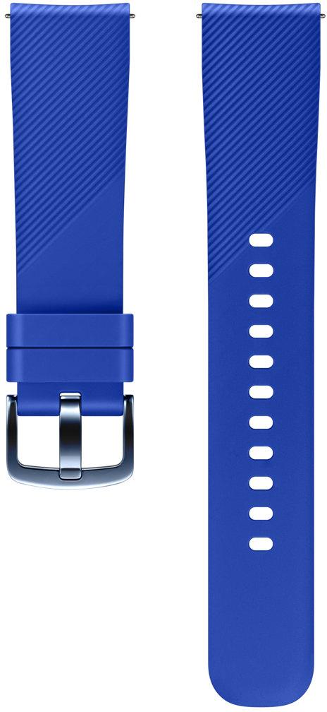 Samsung ET-YSN60 ремешок для Gear Sport, BlueSAM-ET-YSN60MLEGRUСтильный ремешок ET-YSN60 для смарт-часов Samsung Gear Sport позволит всегда быть вцентре внимания. Онвыполнен изсиликона, легко снимается ибыстро меняется взависимости отвашего настроения или стиля одежды.