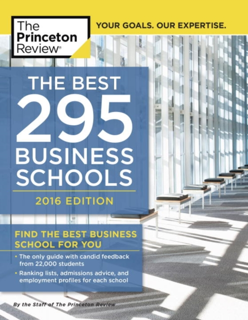 BEST 296 BUSINESS SCHOOLS 2016 driven to distraction