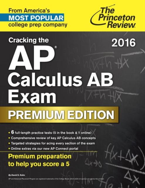 CRACK AP CALC AB 2016 PREMIUM ratchet clank a crack in time