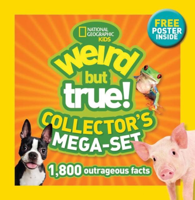 WEIRD BUT TRUE MEGA-SET irresistible