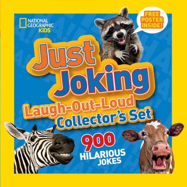 JUST JOKING SET LAUGH lessons in laughing out loud