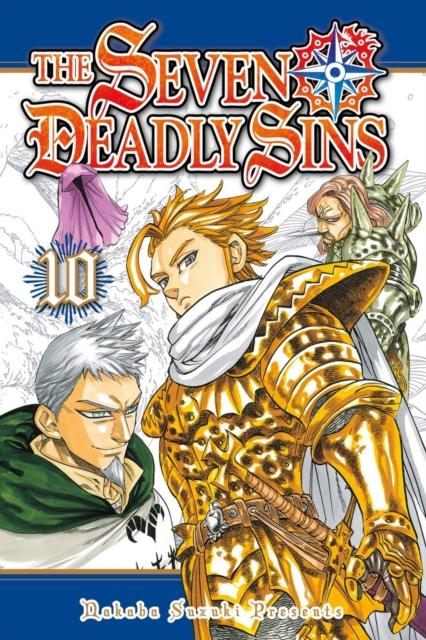 SEVEN DEADLY SINS 10, THE nakaba suzuki the seven deadly sins 4