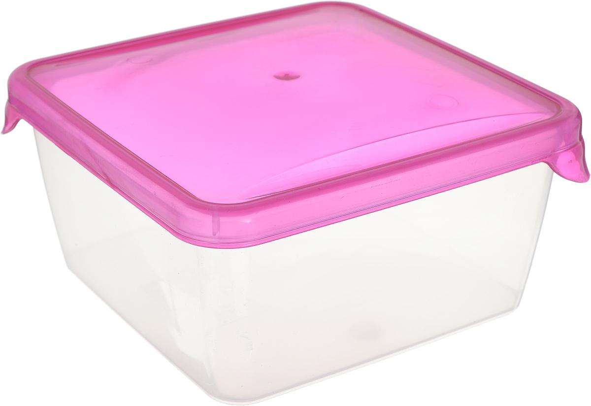 Контейнер P&C Браво, цвет: розовый, прозрачный, 450 млGR1030_розовый, прозрачныйКонтейнер P&C Браво, цвет: розовый, прозрачный, 450 мл