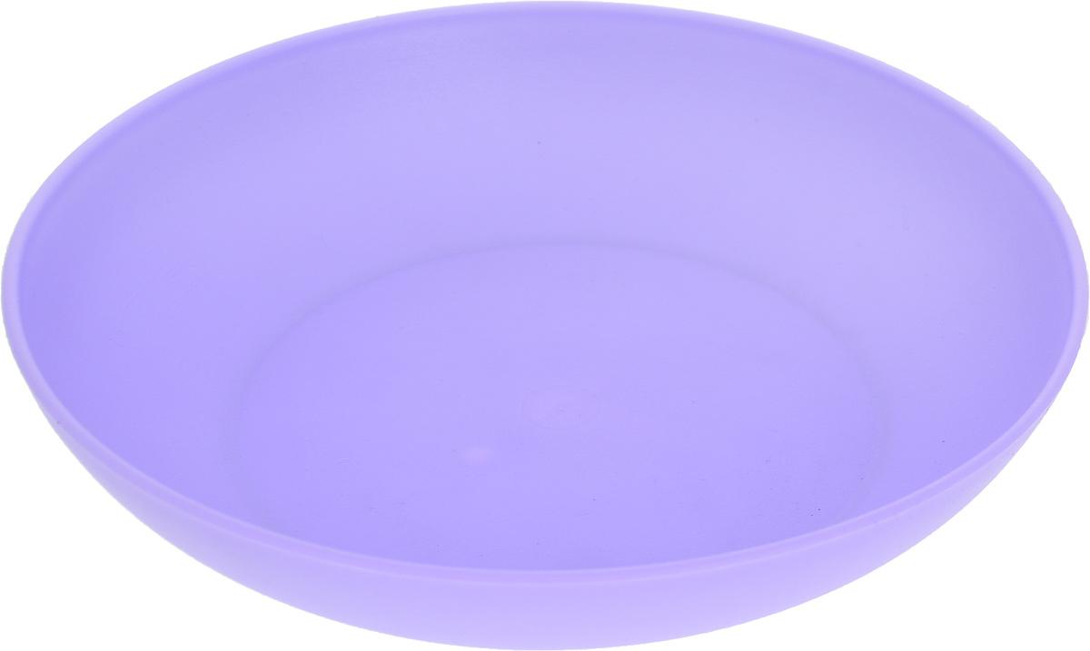 Тарелка Gotoff, цвет: фиолетовый, диаметр 18 см. WTC-275WTC-275_фиолетовыйТарелка Gotoff изготовлена из цветного пищевогополипропилена и предназначена для холодной и горячей пищи.Выдерживает температурный режим в пределах от -25°Сдо +110°C.Посуду из пластика можно использовать вмикроволновой печи, но необходимо, чтобы нагрев непревышал максимально допустимую температуру.Удобная, легкая и практичная посуда для пикника и дачипоможет сервировать стол без хлопот! Диаметр тарелки (по верхнему краю): 18 см.Высота тарелки: 3,5 см.