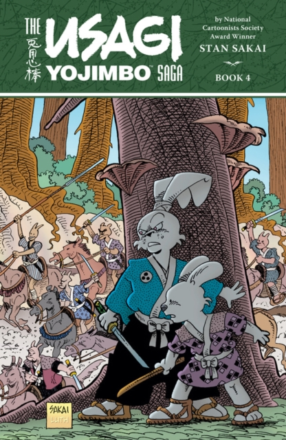 USAGI YOJIMBO SAGA V. 4 usagi yojimbo volume 31 the hell screen