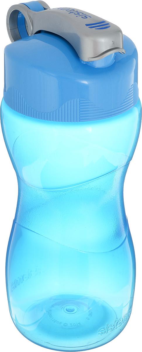 Бутылка Sistema Hydrate, цвет: голубой, 475 мл. 580580_голубойБутылка Sistema Hydrate, цвет: голубой, 475 мл. 580