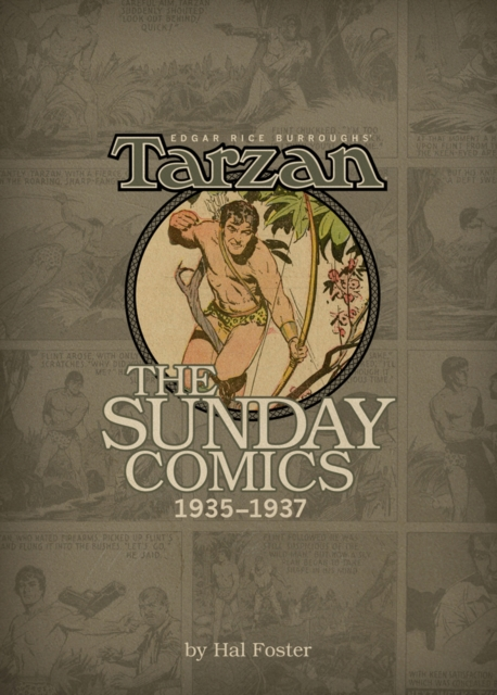ERB TARZAN SUNDAY COMICS V. 3 нож охотничий ножемир длина клинка 14 5 см