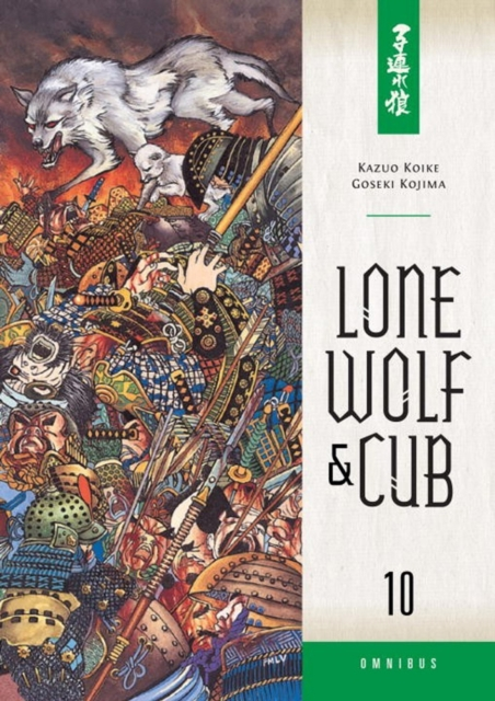 LONE WOLF AND CUB OMNI V. 10 new lone wolf and cub v 7