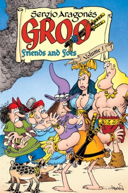GROO: FRIENDS AND FOES V. 1 raised from the ground