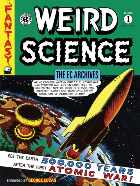 EC WEIRD SCIENCE VOL 1 отсутствует the comic theatre vol 3
