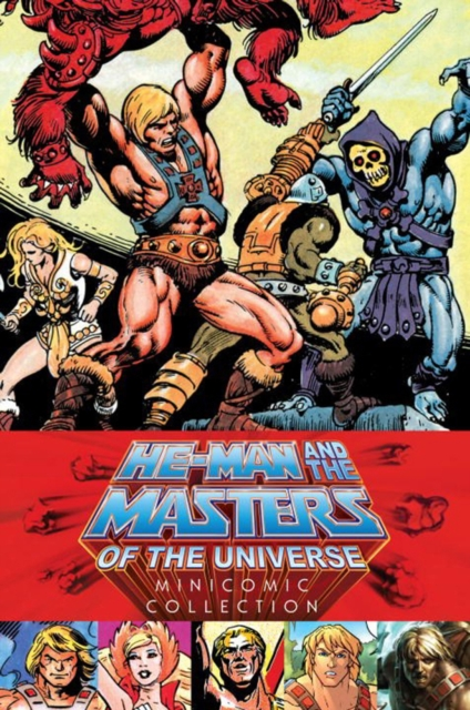 MATU-MINI COMICS masters of the universe
