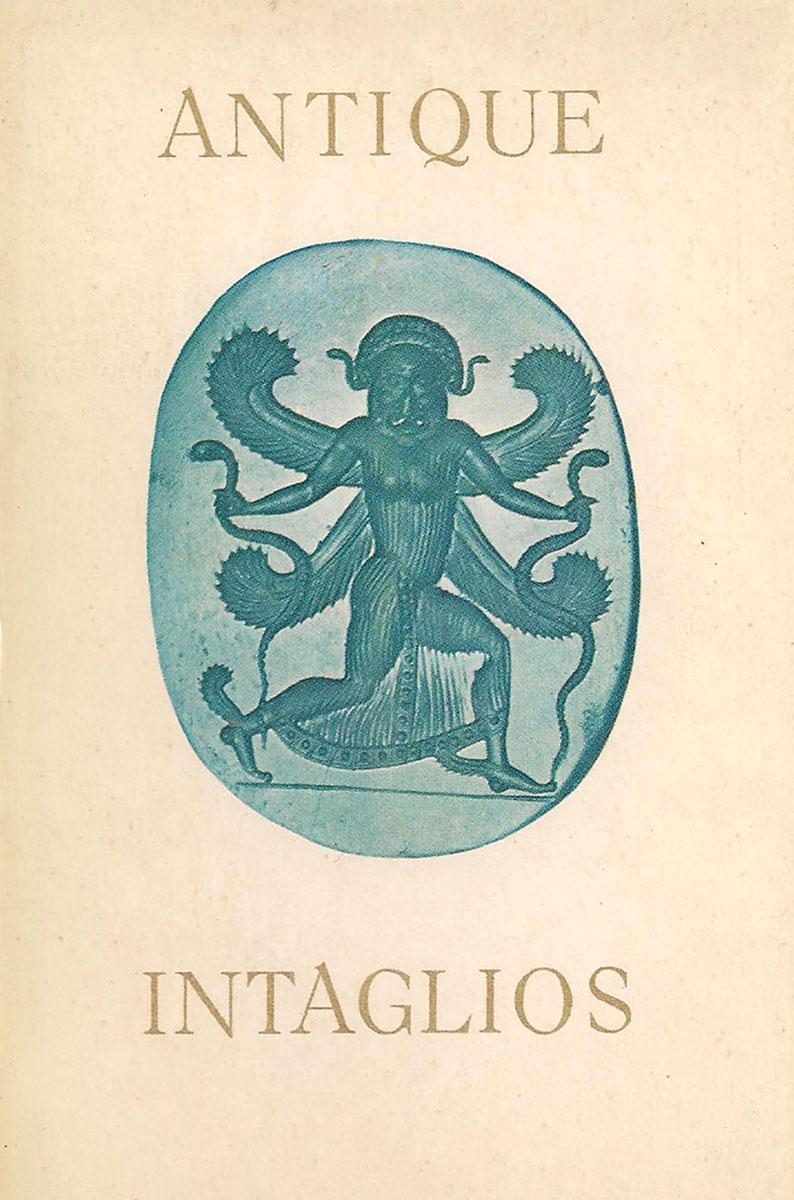 Antique intaglios/ Античные инталии в собрании Эрмитажа (набор из 16 открыток)