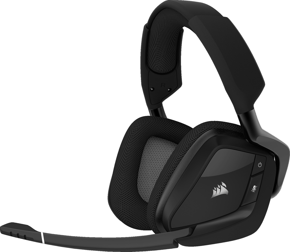 Corsair Gaming Void Pro RGB Wireless, Carbon игровая гарнитура