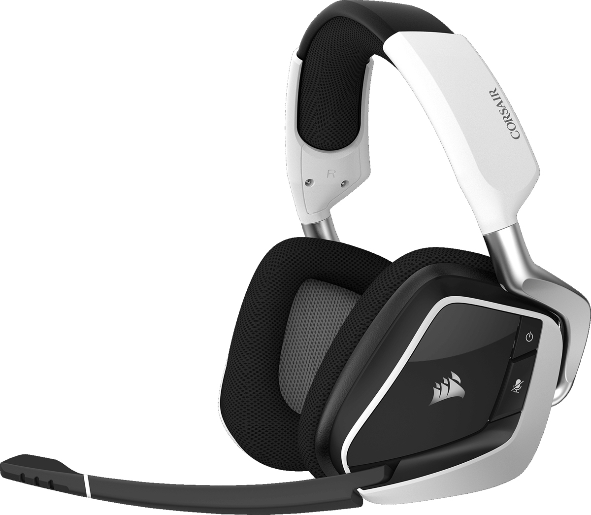 Corsair Gaming Void Pro RGB Wireless, White игровая гарнитура
