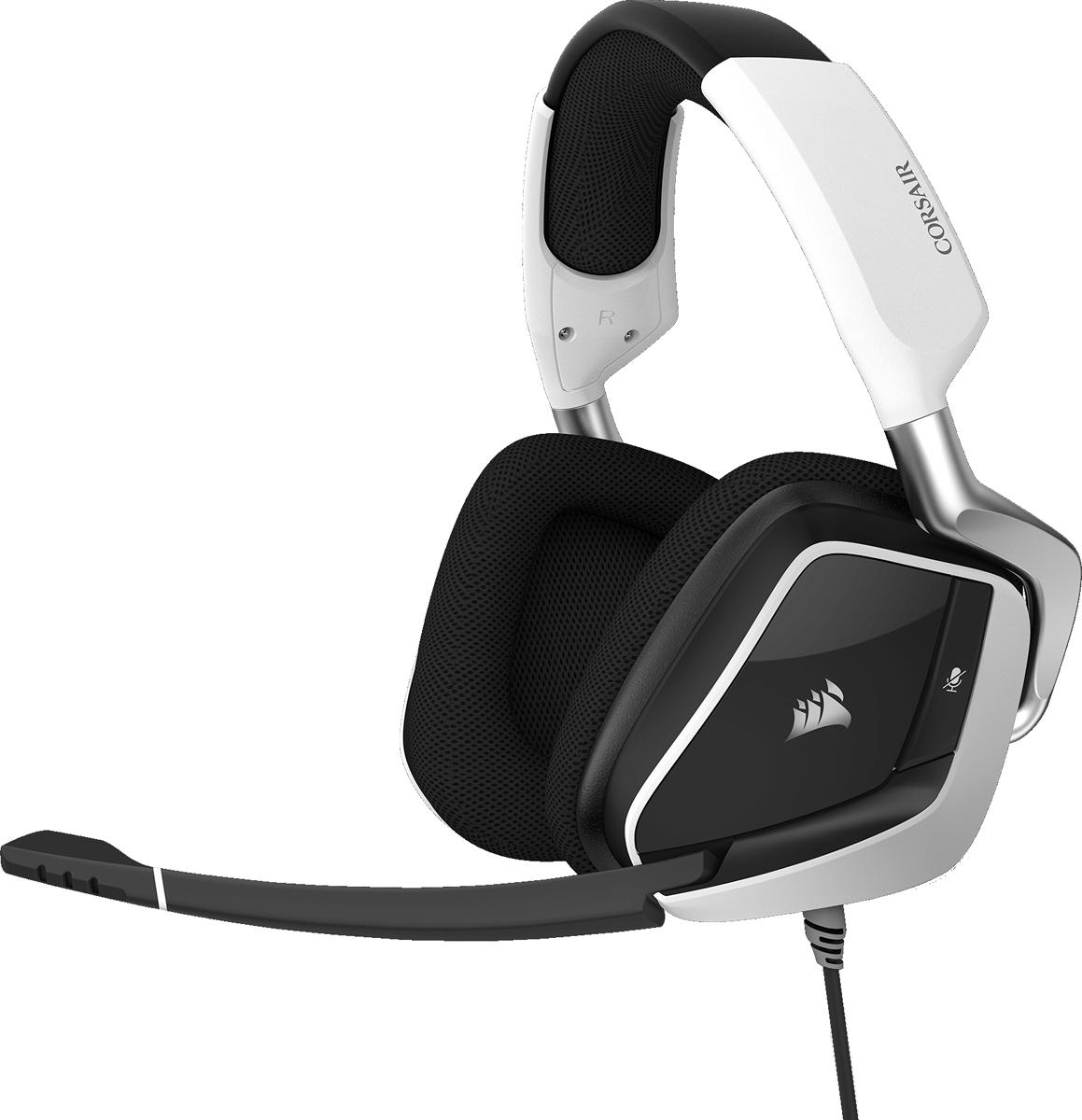 Corsair Gaming Void Pro RGB USB, White игровая гарнитура - Наушники