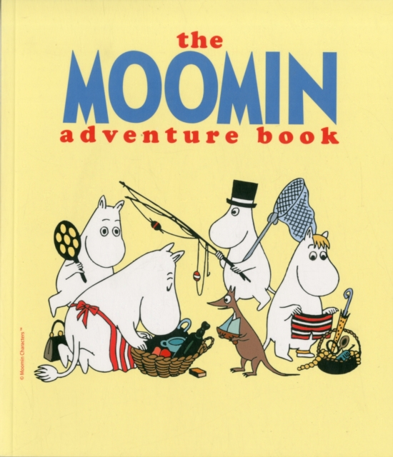 Moomin Adventure Book, The moomin s little book of colours