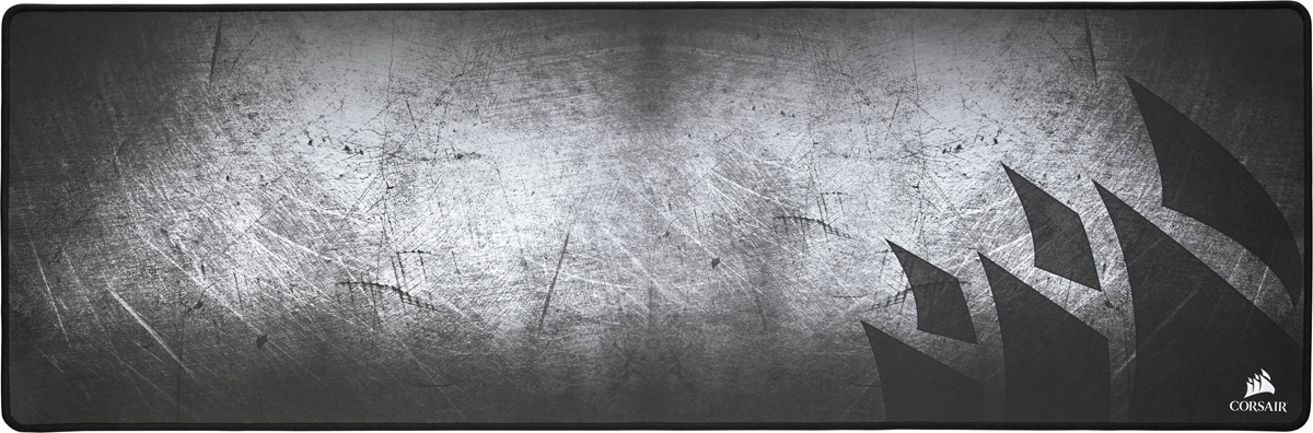 Corsair Gaming MM300 Extended игровой коврик для мышиCH-9000108-WWПоверхность коврика Corsair Gaming ММ300 выполнена из гладкой и прочной ткани с износостойкими прошитыми краями, чтопозволяет избежать разрывов. Ткань разработана с учетом рефлексов игрока, чтобы обеспечить точноеуправление мышью, неизменную надежность и низкое трение с поверхностью.Тканевая поверхность предназначена для наведения на цель с точностью до пиксела и обеспечения низкогоуровня трения.Прошитые края обеспечивают максимальную износостойкость.Можете использовать свое лучшее оборудование и свою лучшую игру… — коврик MM300 оптимизирован как длялазерной, так и для оптической игровой мыши.Коврик не скользит и остается там, где вы его положили благодаря нескользящему основанию из натуральногокаучука