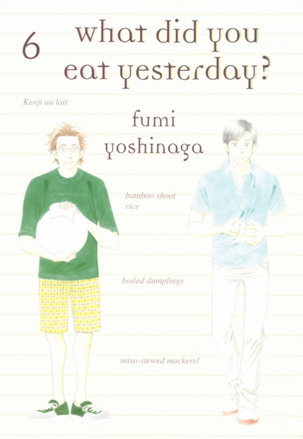 WHAT DID YOU EAT YESTERDAY, V6 what did you eat yesterday volume 3