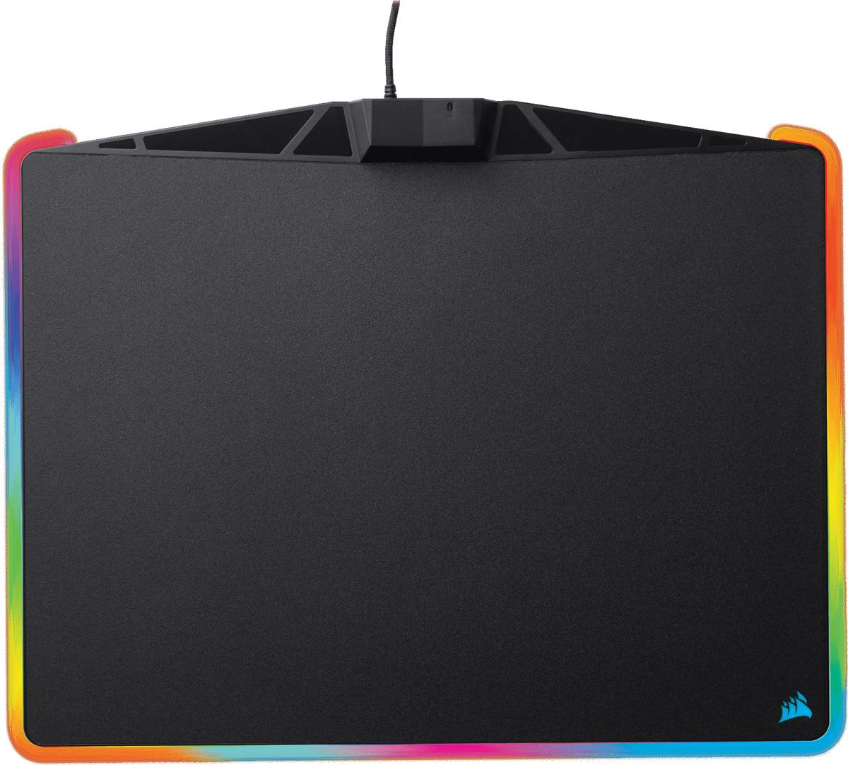 Corsair Gaming MM800 RGB Polaris игровой коврик для мышиCH-9440020-EUКоврик для мыши MM800 RGB Polaris создан на основе стандартов надежности, отслеживания и точности, существующих в компании Corsair, а также обеспечивает эффект погружения абсолютно нового уровня за счет светодиодной подсветки. Сочетание микротекстуры с низким уровнем трения и обширной площади поверхности (350 x 260 x 5 мм) обеспечивает отслеживание движений с точностью до пикселя независимо от стиля игры.15 индивидуальных зон RGB-подсветки с полноценным освещением PWM, которое обеспечивает максимально точную цветопередачу. Синхронизируйте освещение каждой зоны с другими продуктами Corsair с RGB-подсветкой с помощью программного обеспечения CUE для создания безупречного внешнего вида игровой системы.Широтно-импульсная модуляция обеспечивает максимально точную цветопередачу. Коврик Corsair MM800 RGB Polaris оснащен встроенным сквозным портом USB для мыши, что позволяет оставить свободным для других устройств USB-порт системы. Микротекстура поверхности с низким уровнем трения обеспечивает быстрое отслеживание с точностью до пикселя и подходит как для оптических мышей, так и для мышей с лазерным сенсором.Обширное пространство для беспощадных атак и нескользящее резиновое основание для надежной фиксации коврика MM800 на месте. Подчеркните стиль своего «боевого поста» с помощью уникальных профилей подсветки для коврика MM800, настраиваемых с помощью программного обеспечения CUE. Синхронизируйте все свои игровые устройства CORSAIR с RGB-подсветкой, воспользовавшись режимом Lighting Link в приложении CUE.Совместимость: ПК со свободным портом USB 2.0/3.0. Windows 7, Windows 8, Windows 10. Для загрузки программного обеспечения Corsair Utility Engine (CUE) требуется интернет-соединение. ПРИМЕЧАНИЕ. Подключение устройств высокой мощности к сквозному порту USB 2.0 может не поддерживаться.