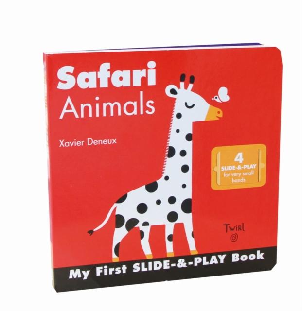 Safari Animals (Slide-and-Play) pilsan puzzle 4x4 animals