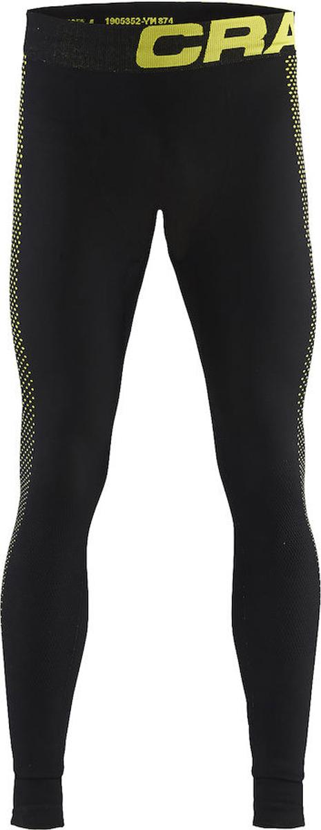 Термобелье брюки мужские Craft Warm Intensity, цвет: черный. 1905352/999603. Размер XXL (54)1905352/999603Кальсоны с эргономичной посадкой и обтягивающим дизайном для оптимальной терморегуляции.