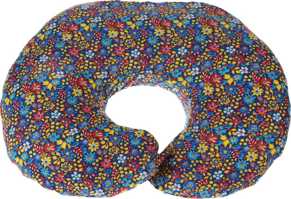 Body Pillow Подушка для беременных и кормящих Рогалик цвет желтый голубой красный 70 х 90 -  Детский текстиль