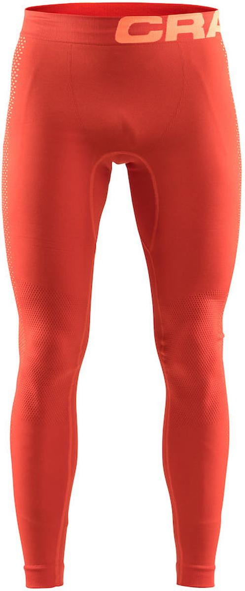 Термобелье брюки мужские Craft Warm Intensity, цвет: красный. 1905352/566576. Размер L (50)1905352/566576Кальсоны с эргономичной посадкой и обтягивающим дизайном для оптимальной терморегуляции.