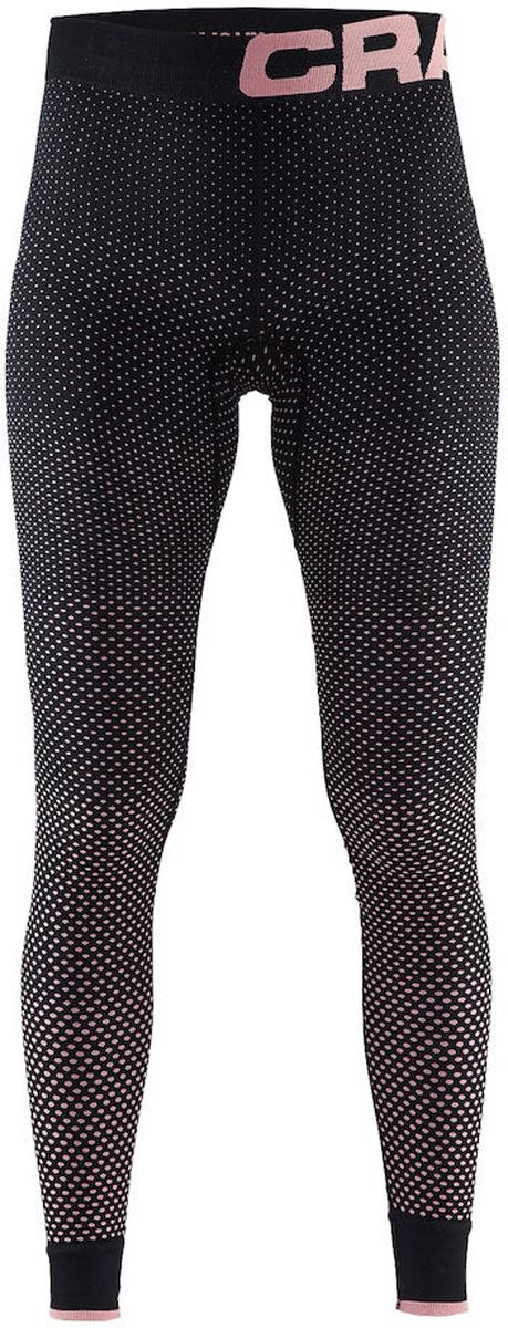 Термобелье брюки женские Craft Warm Intensity, цвет: черно-розовый. 1905349/999701. Размер M (46)1905349/999701Термобрюки от Craft с эргономичной посадкой и обтягивающим дизайном для оптимальной терморегуляции. Модель с эластичным поясом выполнена из полиамида с добавлением полиэстера и эластана.